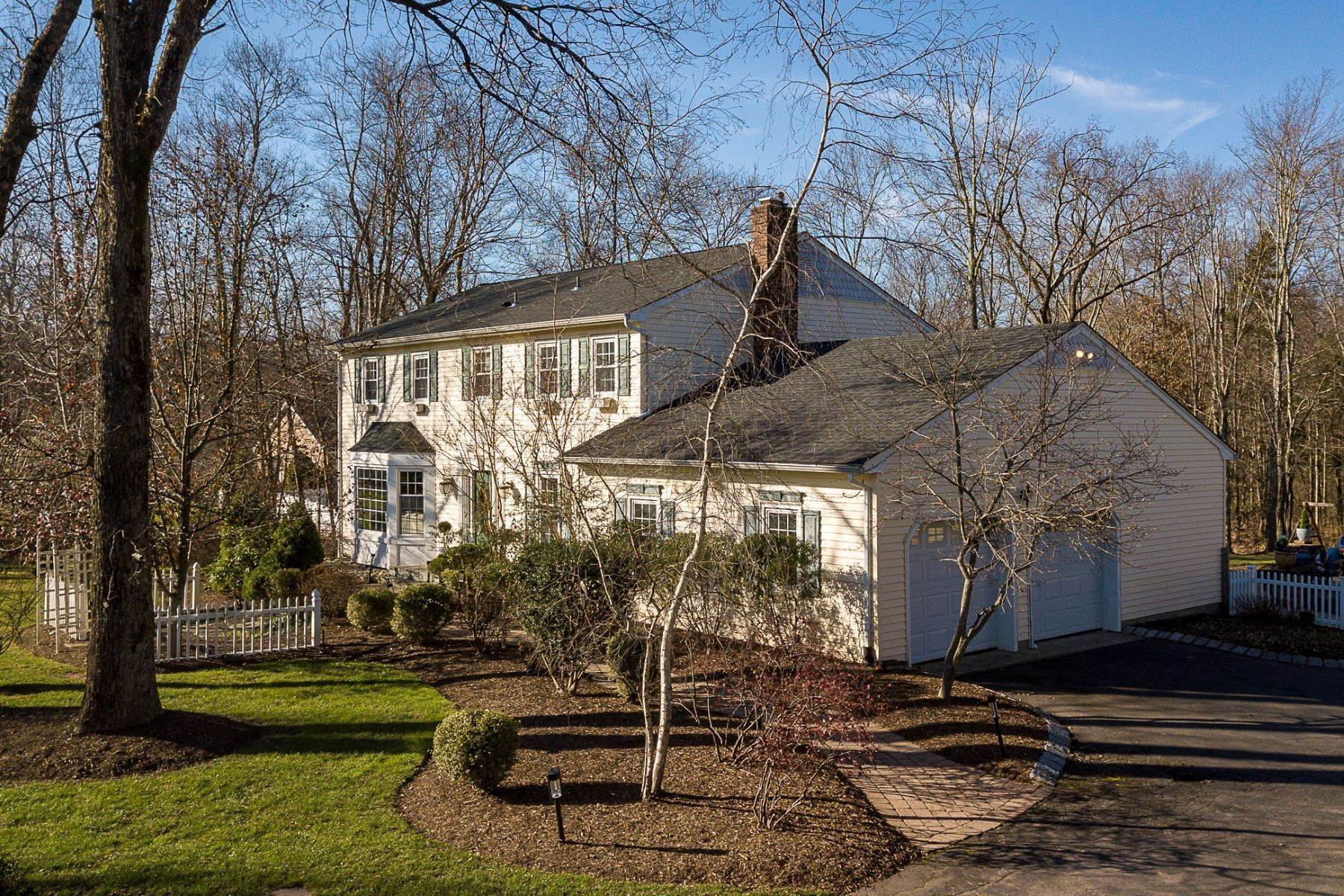 Single Family Homes for Sale at Spacious 5 Bedroom Offers the Best of Everything 193 Cherry Valley Road, Princeton, New Jersey 08540 United States