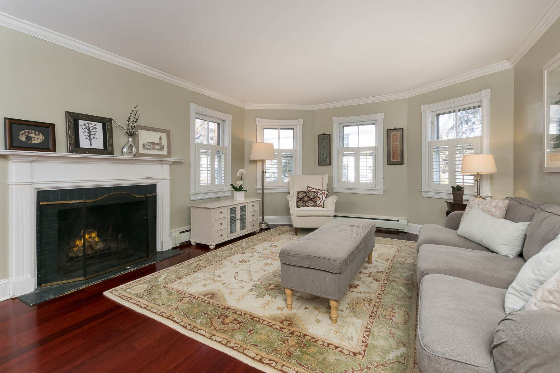 6. Single Family Homes for Sale at Storybook Home on a Stroll-Everywhere Street 5 Titus Avenue, Lawrenceville, New Jersey 08648 United States