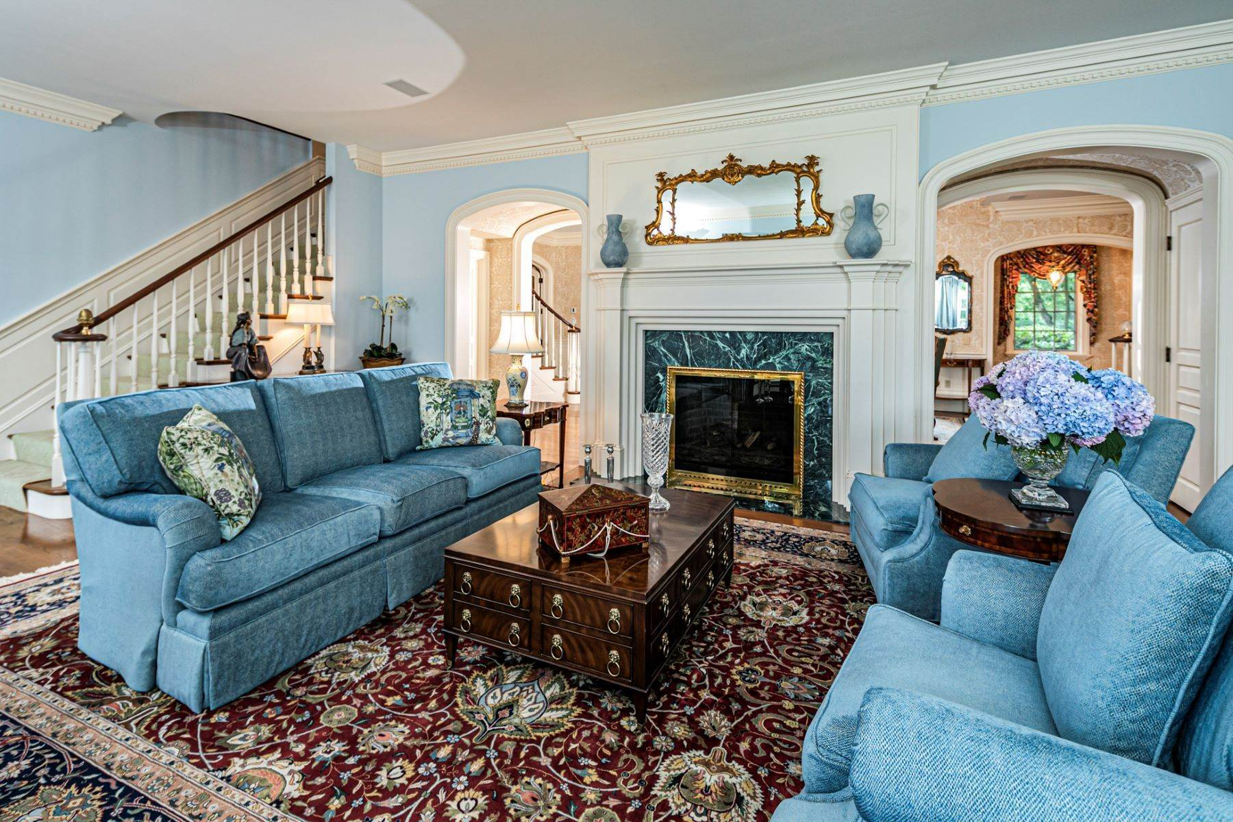 10. Single Family Homes pour l Vente à Private Compound with Every Amenity Imaginable 82 Aunt Molly Road, Hopewell, New Jersey 08525 États-Unis