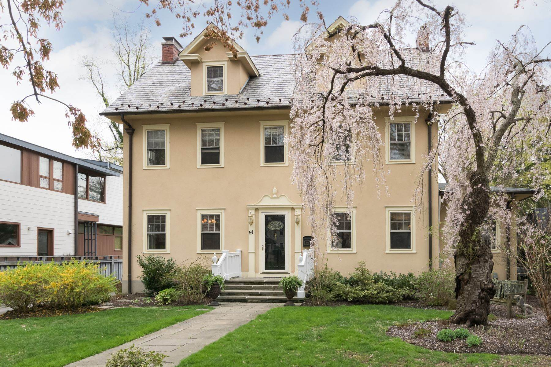 Single Family Homes for Sale at In-Town Beauty Brimming With Delightful Character 91 Moore Street, Princeton, New Jersey 08540 United States