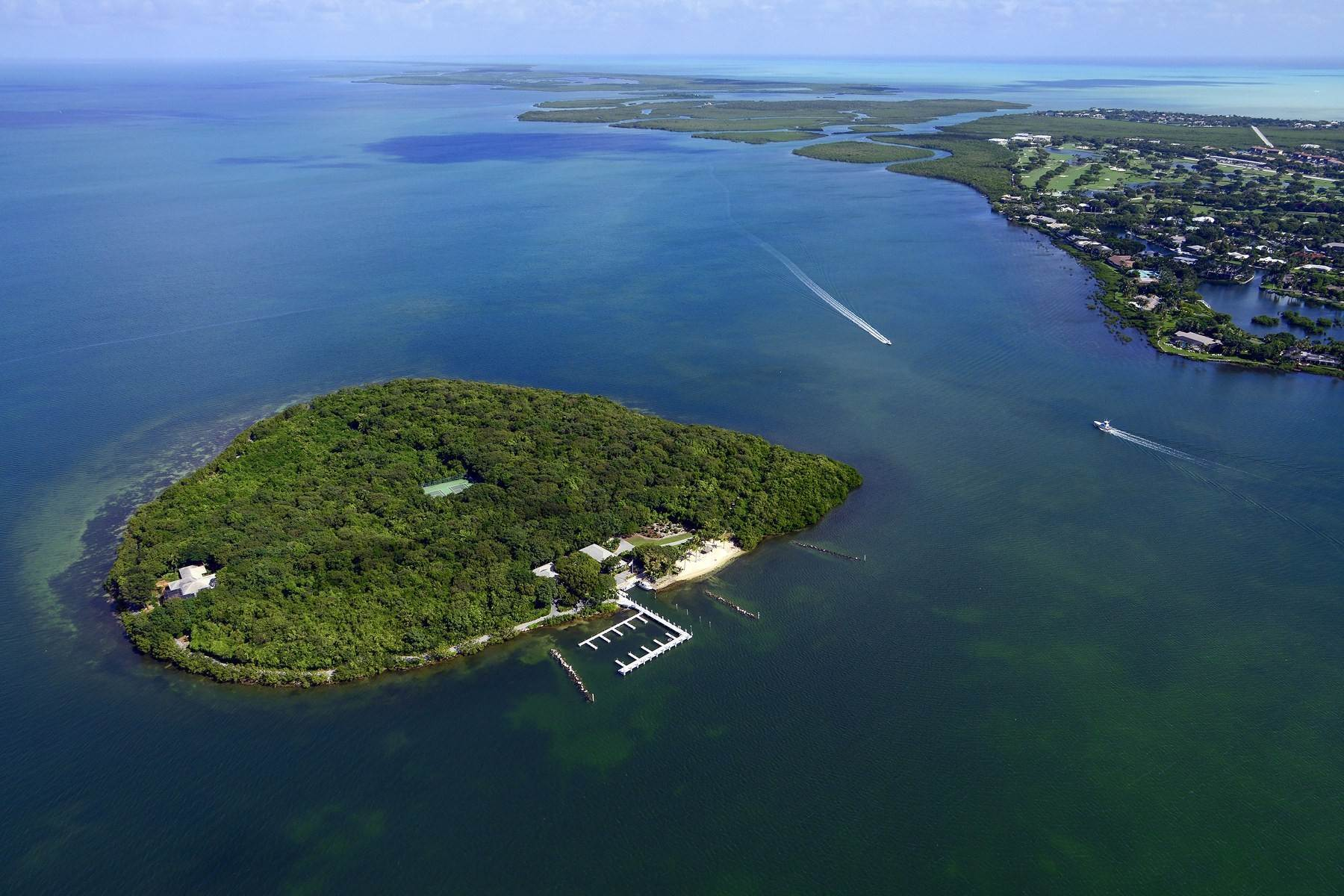 Property -de Pumpkin Key - Private Island, Key Largo, FL Key Largo, Florida 33037 Amerika Birleşik Devletleri