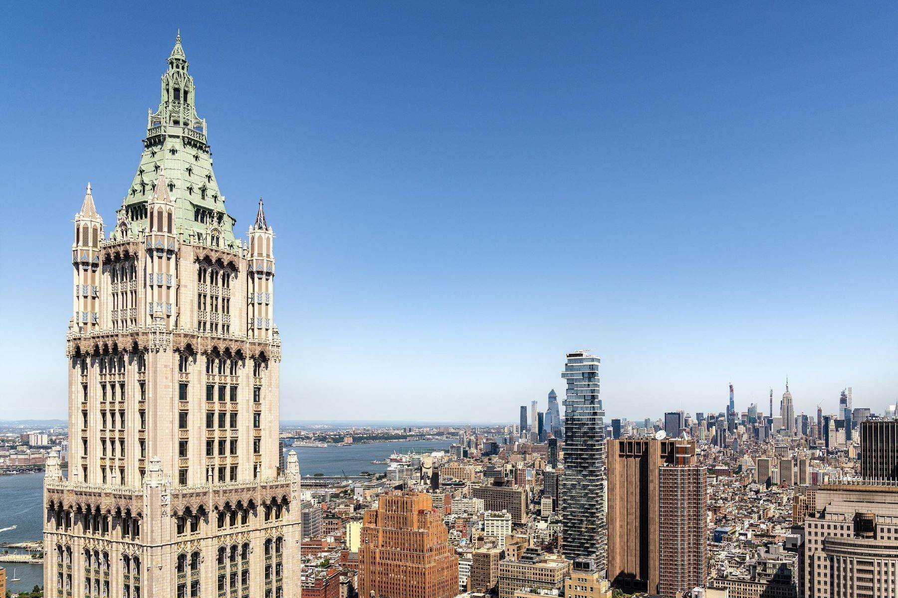 Property للـ Sale في The Pinnacle Penthouse 2 Park Place, Pinnacle Penthouse, New York, New York 10007 United States