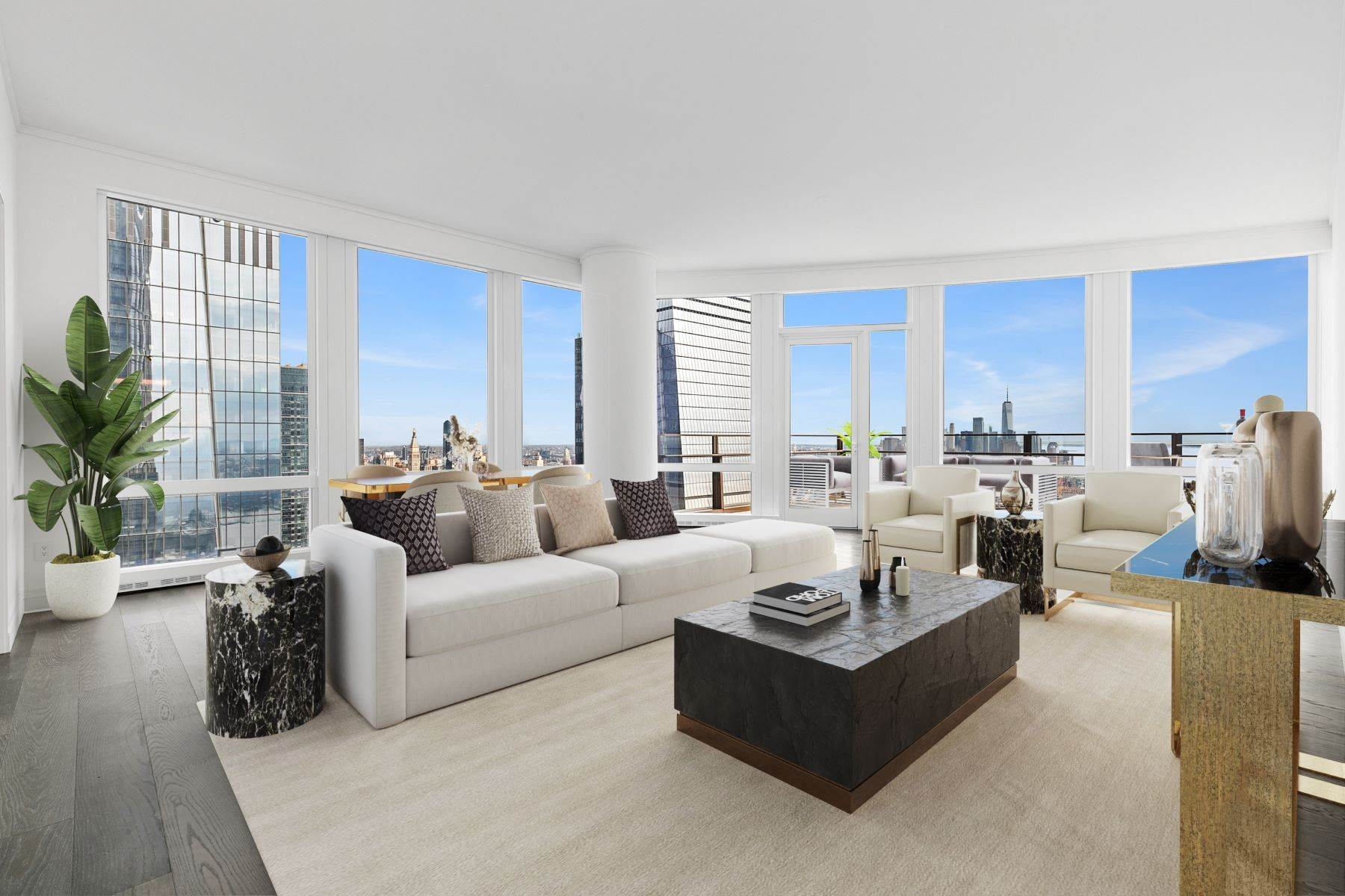 Condominiums om Spectacular Home & Private Terrace 35 Hudson Yards, Apt 6304, New York, New York 10001 Verenigde Staten