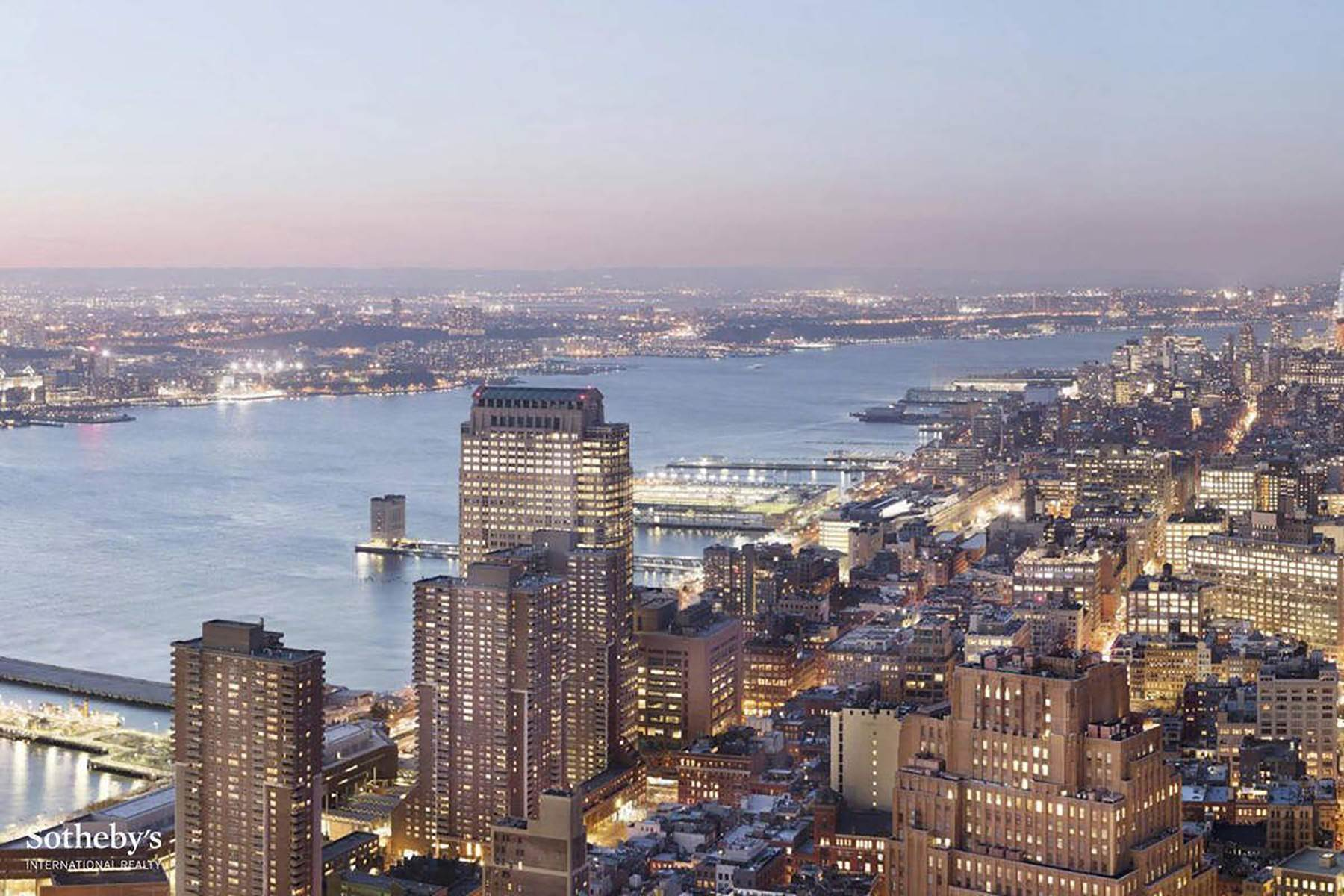 21. Condominiums for Sale at The Pinnacle Penthouse 2 Park Place, Pinnacle Penthouse, New York, New York 10007 United States