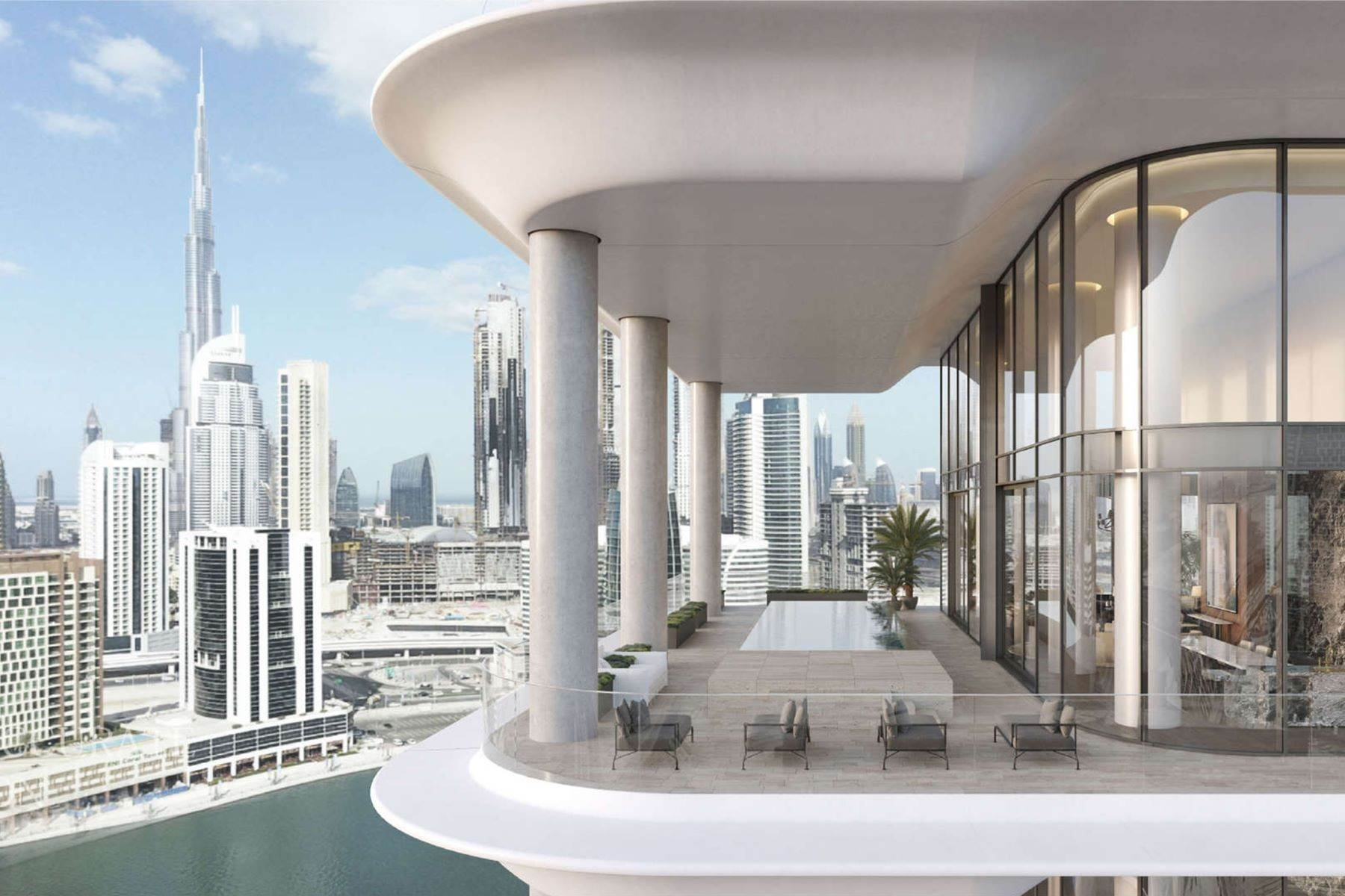 Apartments for Sale at Luxury Penthouse at The Dorchester Collection Dubai, Dubai United Arab Emirates